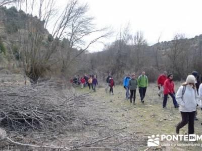 Senderismo Segovia - Riberas de los ríos Pirón y Viejo; embalse de pinilla; solana de avila
